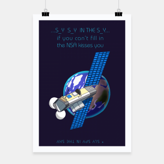 Thumbnail image of Spy Satellite Affiche, Live Heroes
