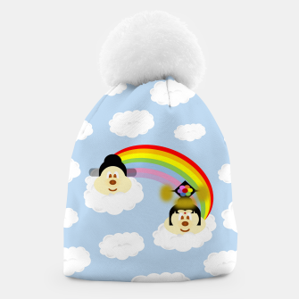 Miniatur Chinese Couple Hat 鮑 鮑 in Rainbow 1, Live Heroes