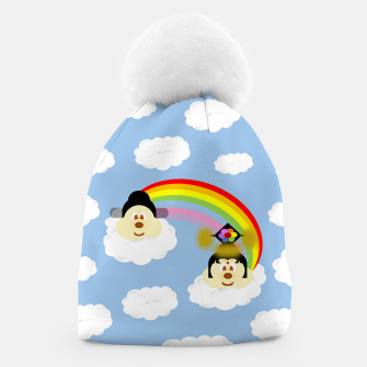 Miniatur Chinese Couple Hat 鮑 鮑 in Rainbow 2, Live Heroes