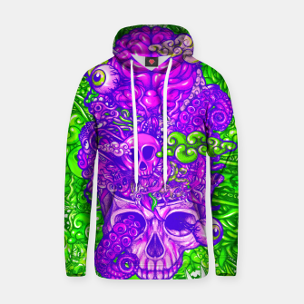 Thumbnail image of Brain Doodle Strong Hoodie, Live Heroes