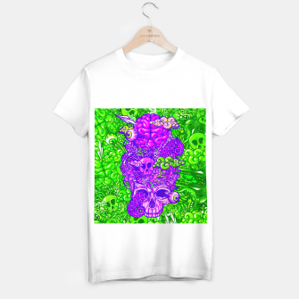 Thumbnail image of Brain Doodle Strong T-shirt regular, Live Heroes