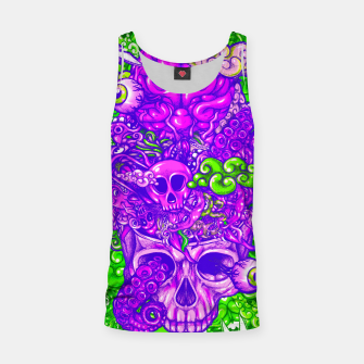 Thumbnail image of Brain Doodle Strong Tank Top, Live Heroes