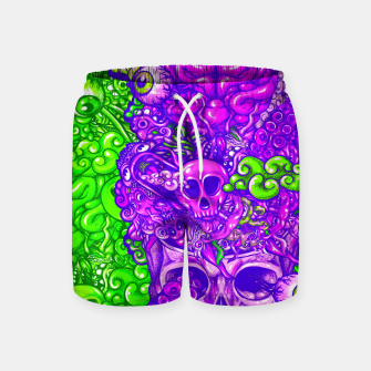 Thumbnail image of Brain Doodle Strong Swim Shorts, Live Heroes