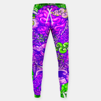 Thumbnail image of Brain Doodle Strong Sweatpants, Live Heroes