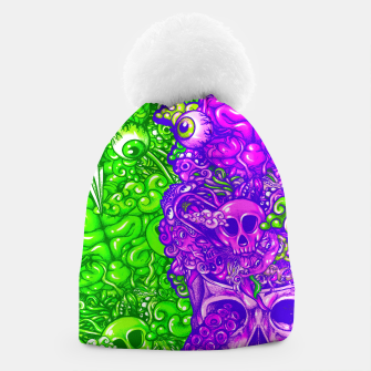 Thumbnail image of Brain Doodle Strong Beanie, Live Heroes