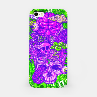Thumbnail image of Brain Doodle Strong iPhone Case, Live Heroes