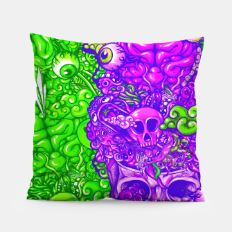 Thumbnail image of Brain Doodle Strong Pillow, Live Heroes