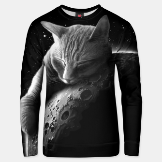 Thumbnail image of MOONCAT 2018 Unisex sweater, Live Heroes