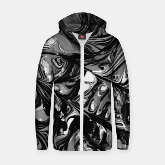 Thumbnail image of Darkness Zip up hoodie, Live Heroes