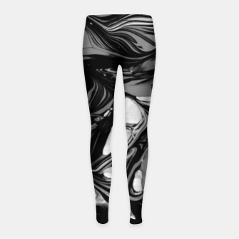 Miniature de image de Darkness Girl's leggings, Live Heroes