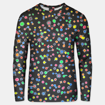 Thumbnail image of NEON DROPS BACTERIA Unisex sweater, Live Heroes