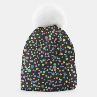 Thumbnail image of NEON DROPS BACTERIA Beanie, Live Heroes