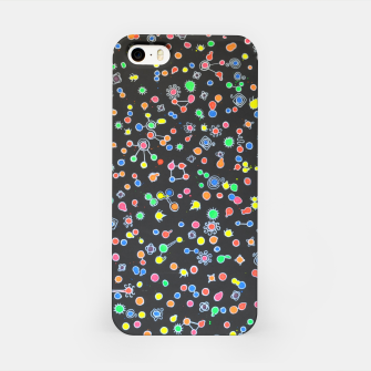 Thumbnail image of NEON DROPS BACTERIA iPhone Case, Live Heroes