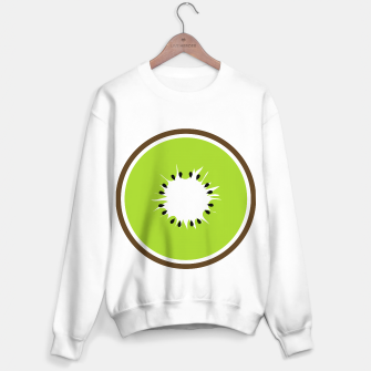 Miniatur Kiwi summer fruit also known as Chinese gooseberry Sweater regular, Live Heroes