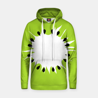 Miniatur Kiwi summer fruit also known as Chinese gooseberry Hoodie, Live Heroes