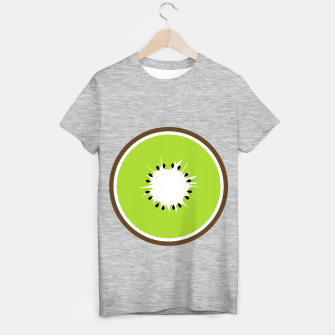 Miniatur Kiwi summer fruit also known as Chinese gooseberry T-shirt regular, Live Heroes