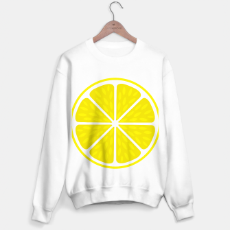Miniaturka Fresh juicy lime- Lemon cut sliced section Sweater regular, Live Heroes
