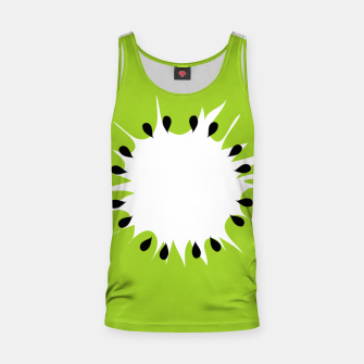 Miniatur Kiwi summer fruit also known as Chinese gooseberry Tank Top, Live Heroes