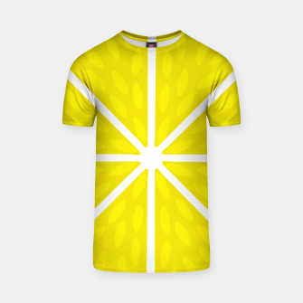 Miniaturka Fresh juicy lime- Lemon cut sliced section T-shirt, Live Heroes