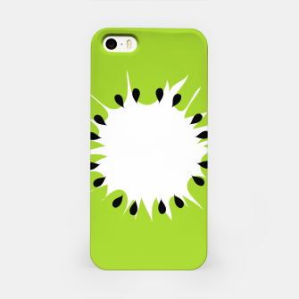 Miniatur Kiwi summer fruit also known as Chinese gooseberry iPhone Case, Live Heroes