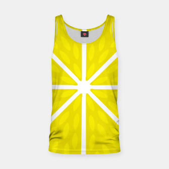 Miniaturka Fresh juicy lime- Lemon cut sliced section Tank Top, Live Heroes