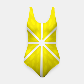 Miniaturka Fresh juicy lime- Lemon cut sliced section Swimsuit, Live Heroes