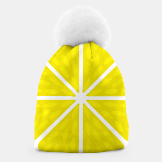 Miniaturka Fresh juicy lime- Lemon cut sliced section Beanie, Live Heroes
