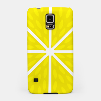Miniaturka Fresh juicy lime- Lemon cut sliced section Samsung Case, Live Heroes