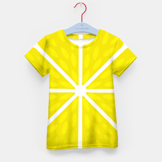 Miniaturka Fresh juicy lime- Lemon cut sliced section Kid's t-shirt, Live Heroes