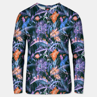 THE JUNGLE AT NIGHT I Sudadera unisex thumbnail image