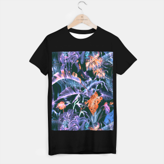 THE JUNGLE AT NIGHT I Camiseta Regular thumbnail image