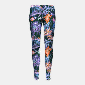 THE JUNGLE AT NIGHT I Leggings para niña thumbnail image
