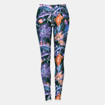 Thumbnail image of THE JUNGLE AT NIGHT I Leggings, Live Heroes