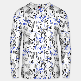 Thumbnail image of Modern abstract artistic strokes Sudadera unisex, Live Heroes