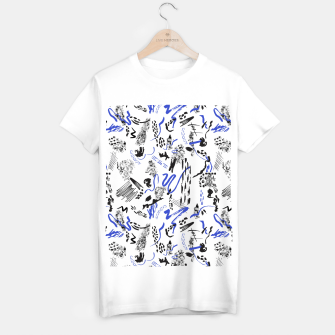 Modern abstract artistic strokes Camiseta Regular thumbnail image