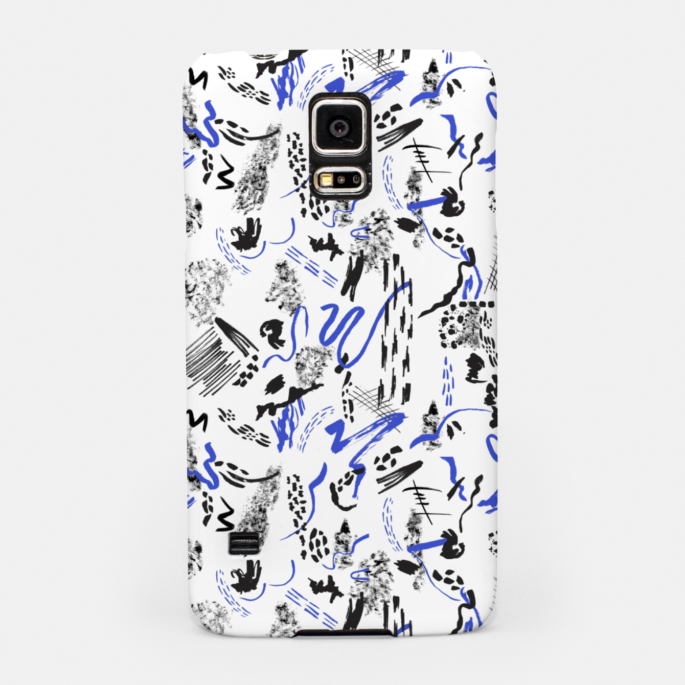 Image of Modern abstract artistic strokes Carcasa por Samsung - Live Heroes