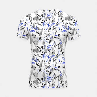 Thumbnail image of Modern abstract artistic strokes Shortsleeve rashguard, Live Heroes