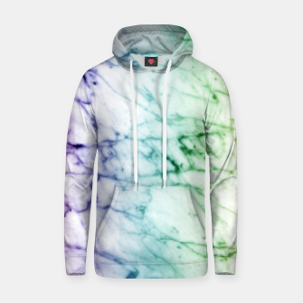 Miniaturka Abstract natural marble texture in rainbow colors Hoodie, Live Heroes