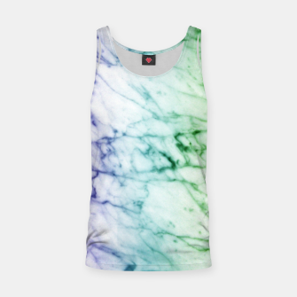 Miniaturka Abstract natural marble texture in rainbow colors Tank Top, Live Heroes