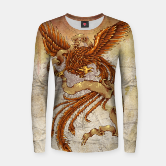 Thumbnail image of The Phoenix Women sweater, Live Heroes