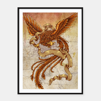 Thumbnail image of The Phoenix Framed poster, Live Heroes