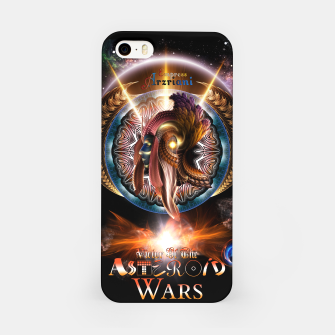 Thumbnail image of Empress Arzriani Art Nouveau Scifi Fractal Portrait iPhone Case, Live Heroes