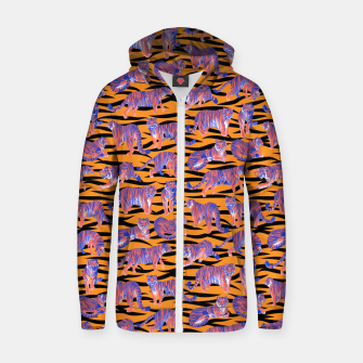 Thumbnail image of Tigers Zip up hoodie, Live Heroes