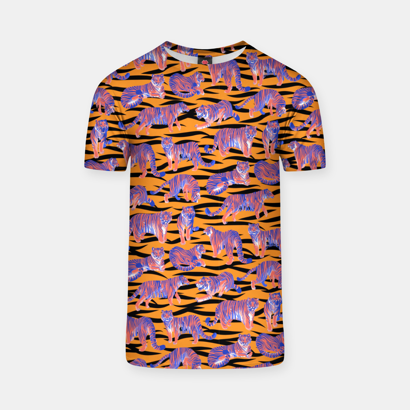 Image of Tigers T-shirt - Live Heroes