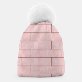 Thumbnail image of Blush Brick Imperfection Beanie, Live Heroes
