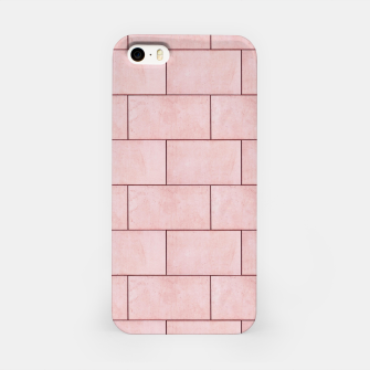Thumbnail image of Blush Brick Imperfection iPhone Case, Live Heroes