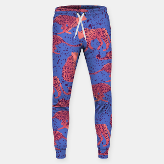 Miniatur Exotic Cheetah Sweatpants, Live Heroes