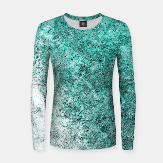 Thumbnail image of Sea Greenness Women sweater, Live Heroes