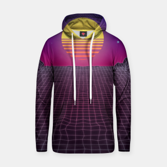 Thumbnail image of Synthwave Sunset Hoodie, Live Heroes