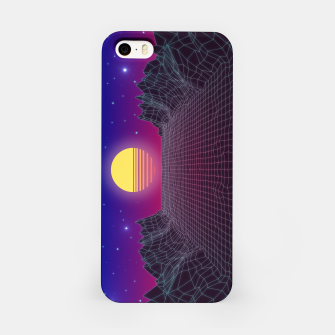 Thumbnail image of Synthwave Sunset iPhone Case, Live Heroes